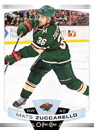 Amazon Com 2019 20 O Pee Chee Update 605 Mats Zuccarello Minnesota Wild Nhl Hockey Trading Card Collectibles Fine Art