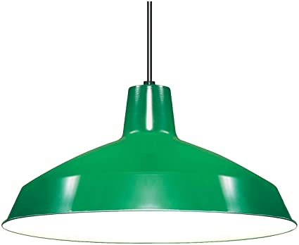 Nuvo lighting sf76660 warehouse shade green ceiling pendant nuvo lighting sf76660 warehouse shade green aloadofball Image collections