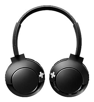 4b1906746b2 Philips SHB3075BK - Auriculares Inalambricos (Bluetooth, con micrófono,  aislantes de Ruido, Plegables, 12 h dereproducción) Negro: Amazon.es:  Electrónica