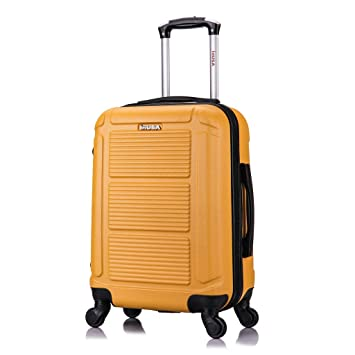 InUSA Trend Lightweight Hardside Spinner 20quot Carry On Design