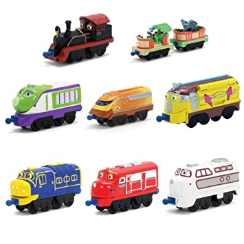 Amazon.com: Chuggington Die-Cast Brewster tren: Baby