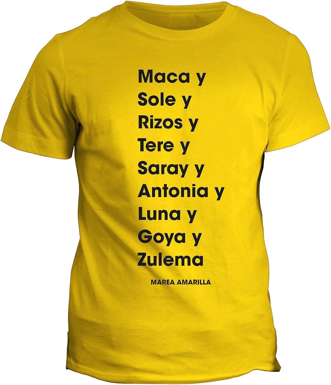 fashwork - Camiseta con diseño de la Serie de televisión Viis a Vis Il prezzo del riscatto - Maca y Sole y Rizos y Tere y Saray y Antonia y Luna y