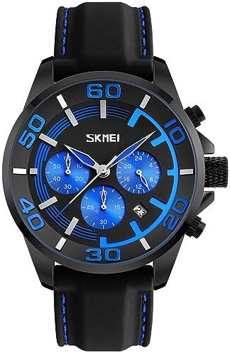 Hombres Top marca lujo relojes correa de silicona reloj deportivo impermeable moda cuarzo relojes de pulsera