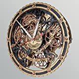 Automaton Bite 1682 Black Gold Handcrafted Wall