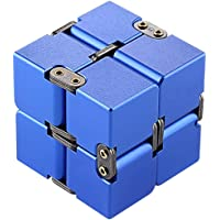 Awhao Decompression Rubik's Cube Alloy Aluminum Metal 190g Decompression Magic Cube Artifact Fingertip Square