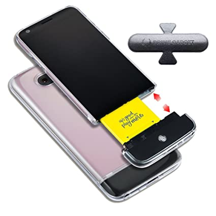 on sale 0696f 8c6ff LG G5 B&O PLAY Clear Transparent Hard Clear Detachable Removable ...