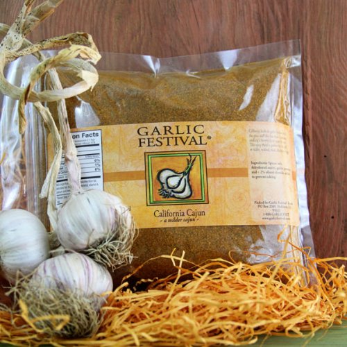 Garlic Festival Foods California Cajun Resealable Flat Pack by Garlic Festival