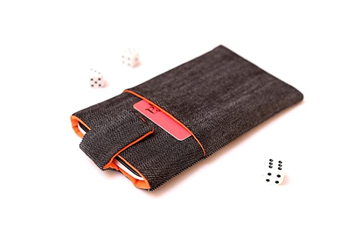 the best attitude 8d0bd 0b7a7 Amazon.com: iPhone 8 sleeve case cover pouch handmade with magnetic ...