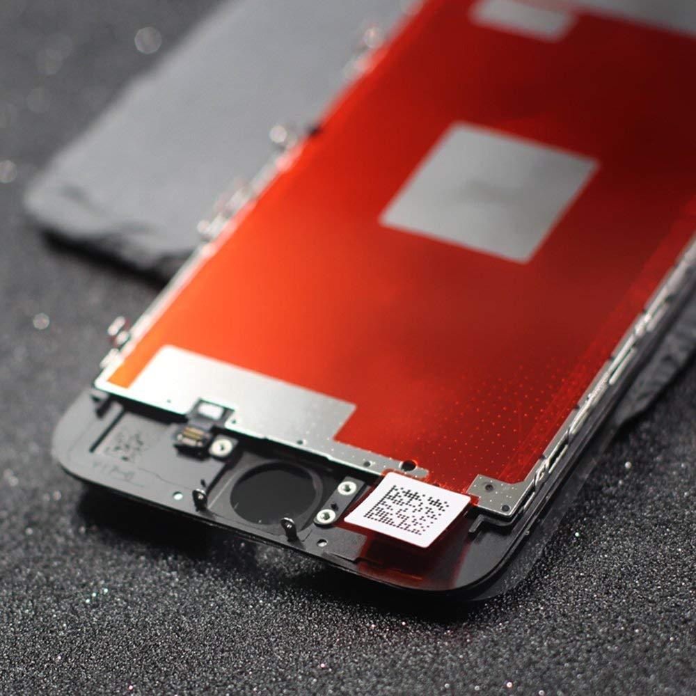 FLYLINKTECH Pantalla T/áctil LCD Reemplazo para iPhone 5 Blanco 4 Contiene Bot/ón de Inicio Blanco Herramientas