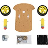 SainSmart 2WD Smart Car Chassis Kit Tracing Car With Speed Encoder 1:48 for Arduino UNO MEGA2560 R3