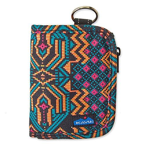 KAVU Women's Zippy Wallet Outdoor Backpacks, One Size, Pixel Palace