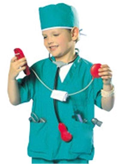 THEE Disfraz de Enfermero para Niños de Halloween