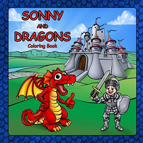 Sonny and Dragons Coloring Book