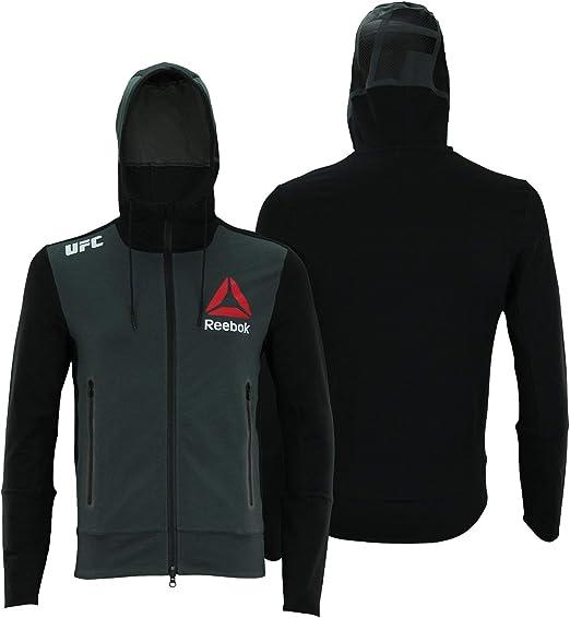 neuer Stil Reebok UFC FK BLACK WALKOUT HOOD Per Hoodies
