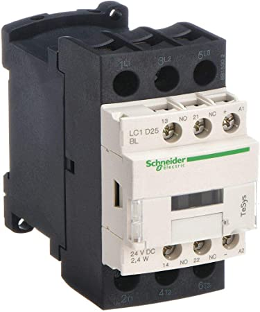SCHNEIDER ELECTRIC Contactor 600-Vac 25-Amp Iec Plus Options LC1D25BL Mounting Bracket