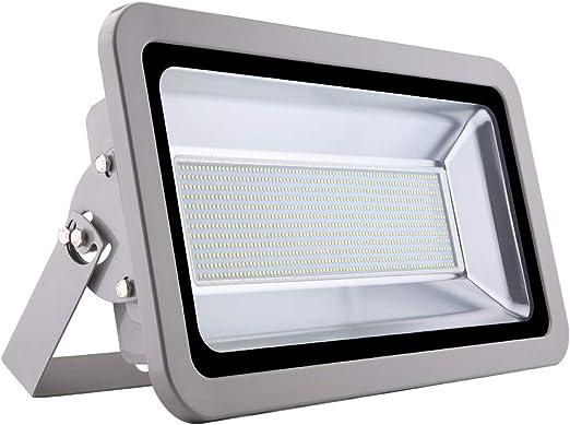500W Foco LED Exterior, 50000LM Blanco Frío 6000K Foco LED ...