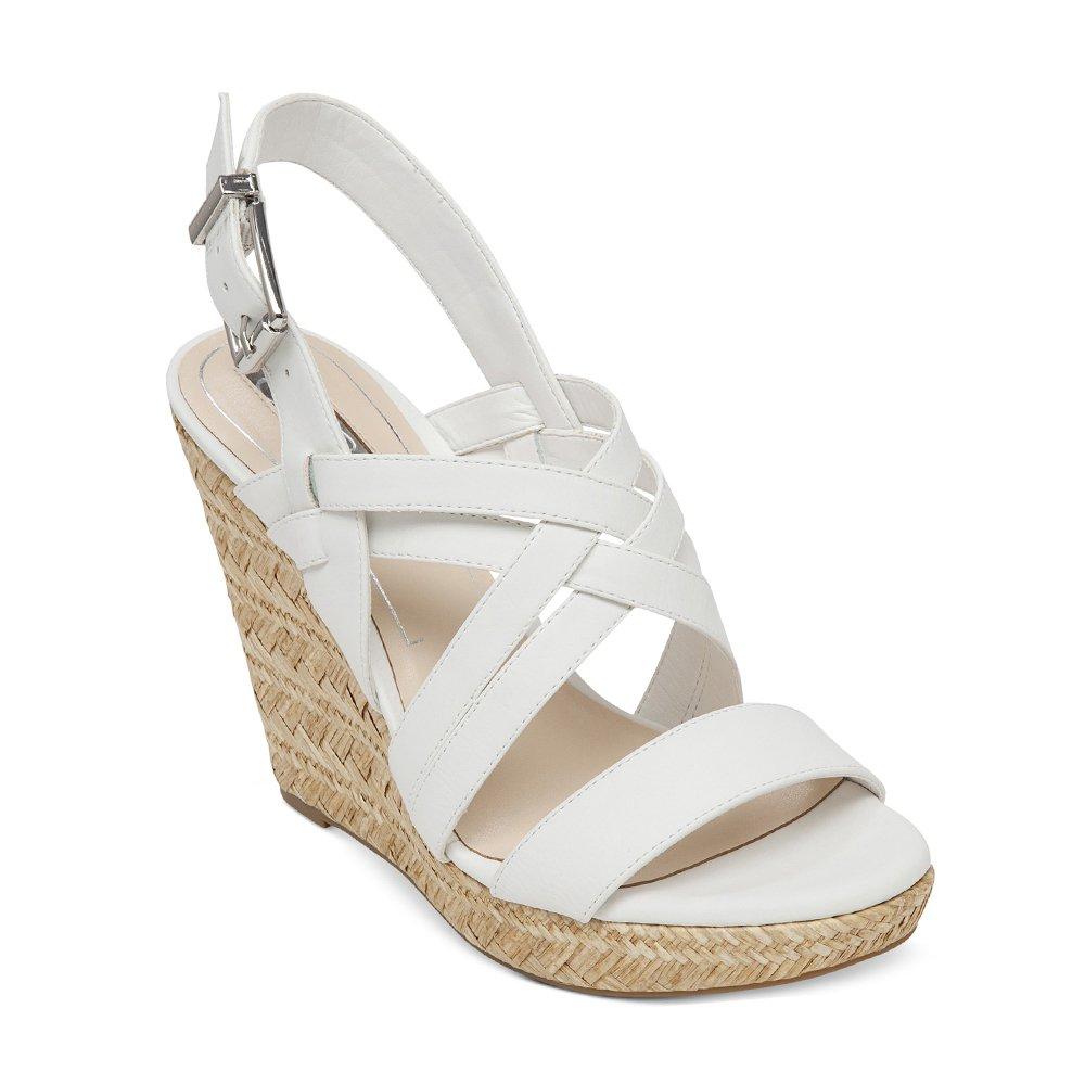 Jessica Simpson Women's Julita Wedge Sandal B00PT10XPW 6.5 B(M) US|Powder Yakima