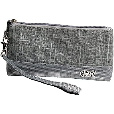 Women's Wristlet Wallet - Glove It - Zipper Wristlets for Women - Ladies Wristlet Purse - Removable Strap for Keychain - Make Up, Cell Phone, Smartphone, Travel, Credit Cards