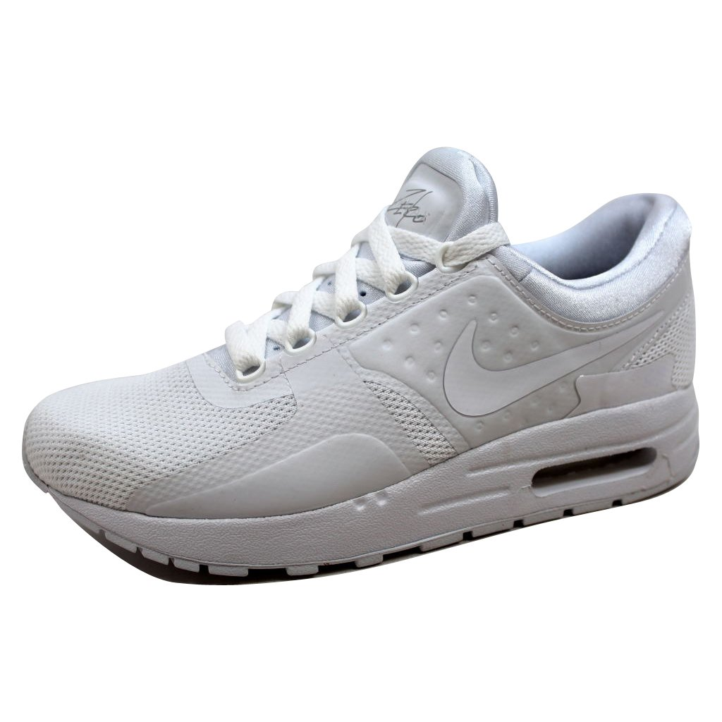 more photos c2ad8 b99f4 Big Kids Nike Air Max Zero Essential White White Wolf Grey Pure Platinum (4  M US Big Kid)  Buy Online at Low Prices in India - Amazon.in