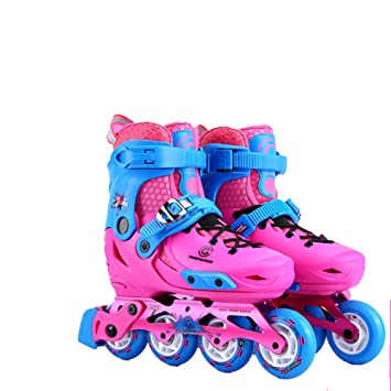 GONGYU Children s roller skates set 3-5-6-8-10 years old inline skates for  men and women beginners  Amazon.co.uk  Sports   Outdoors a22c4c9bce