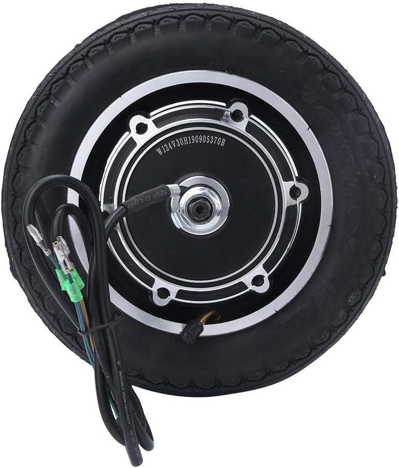 Aluminium Alloy Anti-Skidding Tire Shock Absorber Tyre awstroe 10 Inch 24//36//48V 350W Wheel Hub Motor for E-Bike Skateboard