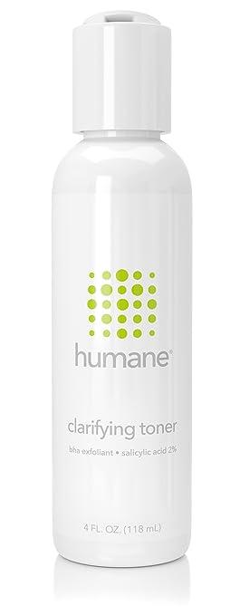 Humane cruelty-free clarifying toner