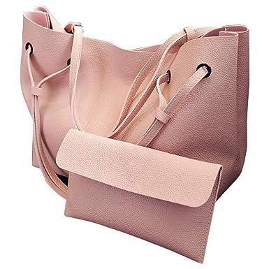 3d2053ca38c3 Amazon.com  Refaxi Women Bags Purse Shoulder Handbag Tote Messenger Hobo  Satchel Bag Cross Body (Brown)  Clothing