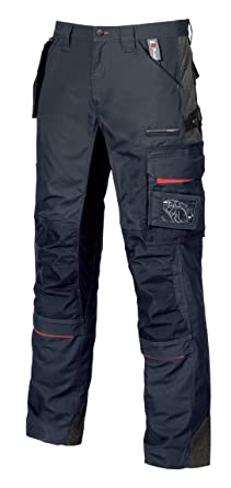 U-Power - Pantalon de Travail avec Poche Amovible Fly Pocket - Race ... b86a7bd9e207