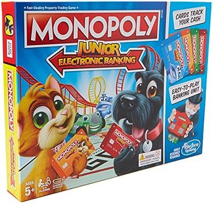 Hasbro Monopoly Junior Electronic Banking Niños Simulación económica - Juego de Tablero (Simulación económica, Niños, Niño/niña, 5 año(s), 99 año(s), AAA): Amazon.es: Juguetes y juegos