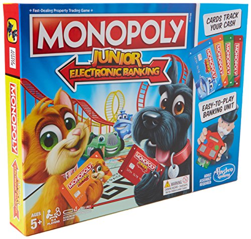 Hasbro Gaming E1842102 Monopoly Junior Electronic Banking