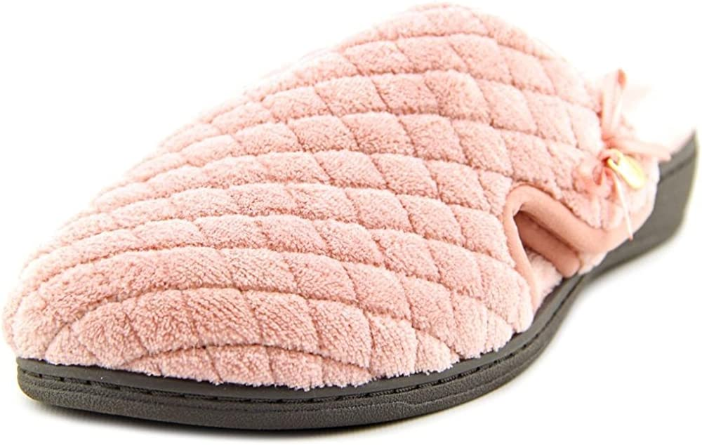 Vionic Women's Adilyn Slipper- Ladies Adjustable Slippers with Concealed Orthotic Arch Support