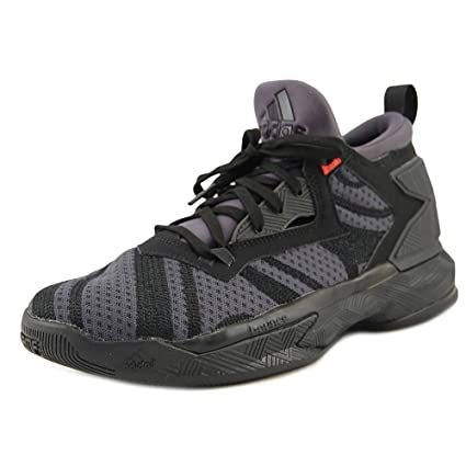 d2511b90987 Amazon.com  adidas D Lillard 2 J Gs Black Black Red Gs Basketball ...