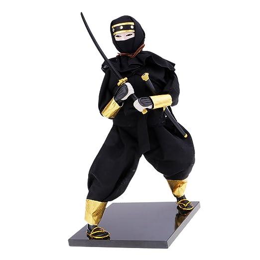 FLAMEER Exquisita muñeca de Guerrero Japonesa Ninja Estatua ...