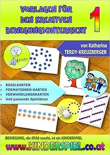 Vorlagen für den kreativen Bewegungsunterricht: Formationskarten ...