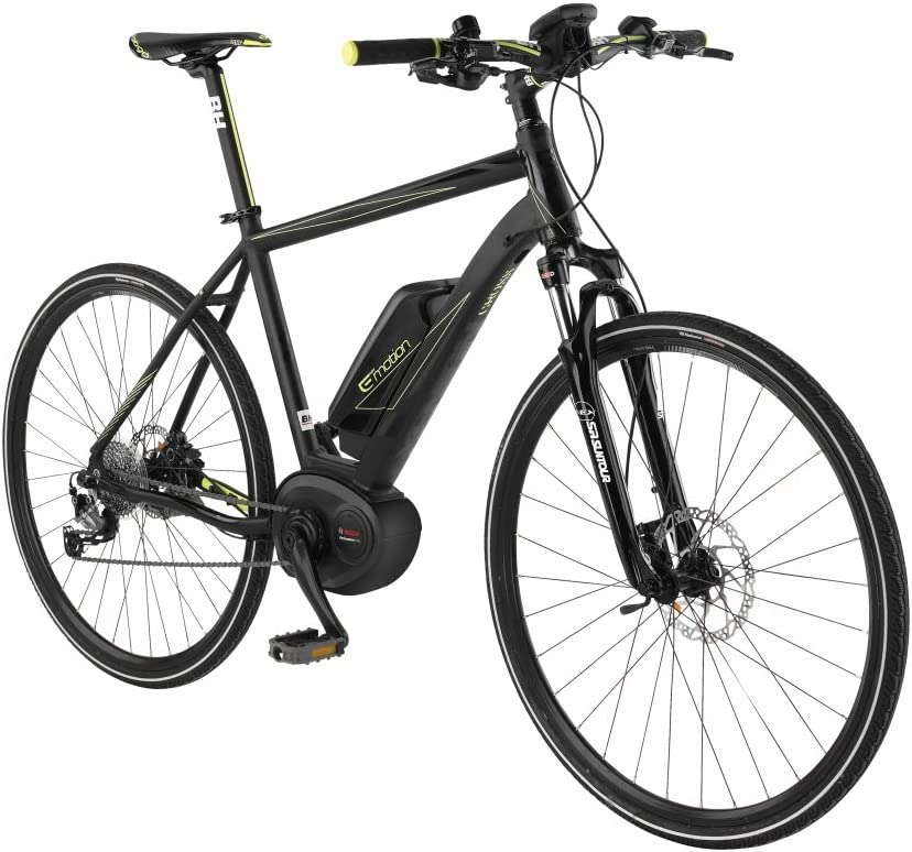 BH-Bicicleta eléctrica EMOTION Xenion Cross 2016-M: Amazon.es ...