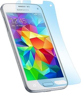 doupi Pantalla Película Protectora para Samsung Galaxy S5 Mini, Ultrathin Crystal Super Clear Lustroso Brillante Display Protector (6X en el Paquete): Amazon.es: Electrónica