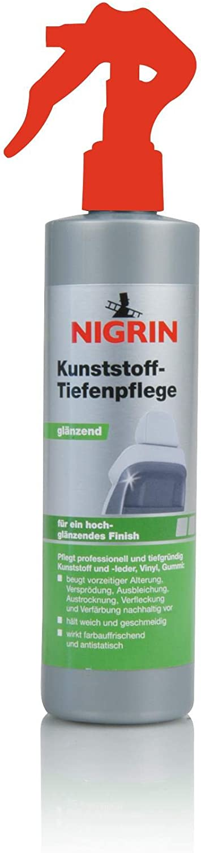 Nigrin 74016 Kunststoff Tiefenpflege 300 Ml Glänzend Auto