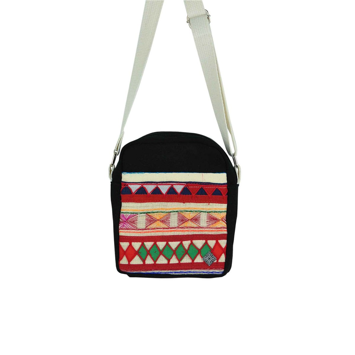 77a3e647bae6 Amazon.com: virblatt small shoulder bag for men and women with hand ...