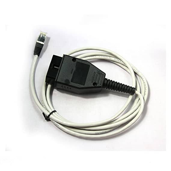 BMW ENET (Ethernet a OBD) Interfaz BMW LAN CABLE OBDII: Amazon.es: Coche y moto