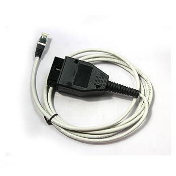 BMW ENET (Ethernet a OBD) Interfaz BMW LAN CABLE OBDII: Amazon.es: Coche y moto