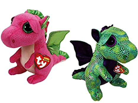 280bbef0889 Image Unavailable. Image not available for. Color  TY Beanie Boos Dragon ...