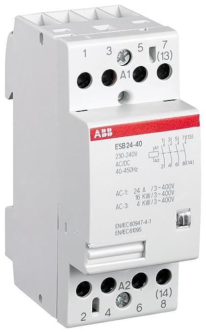 9 opinioni per ABB ESB24-40-230V- Contattore di installazione