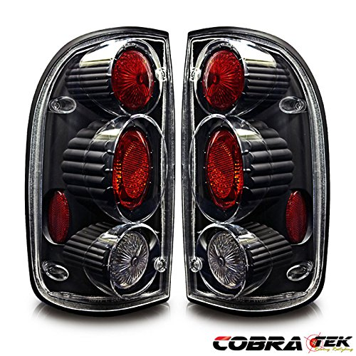01-04 TOYOTA TACOMA ALTEZZA TAIL LIGHT - CLEAR LENS BLACK HOUSING ()