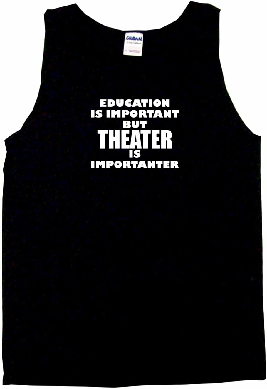 99 Volts Education is Important But Theater is Importanter Men's Tee Shirt