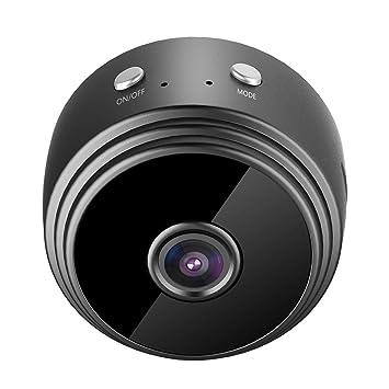 SinceY Mini Camera, A9 HD cámara de visión Nocturna 1080p Smart Monitor WiFi Mini Cámara con detección de Movimiento/visión Nocturna: Amazon.es: Electrónica