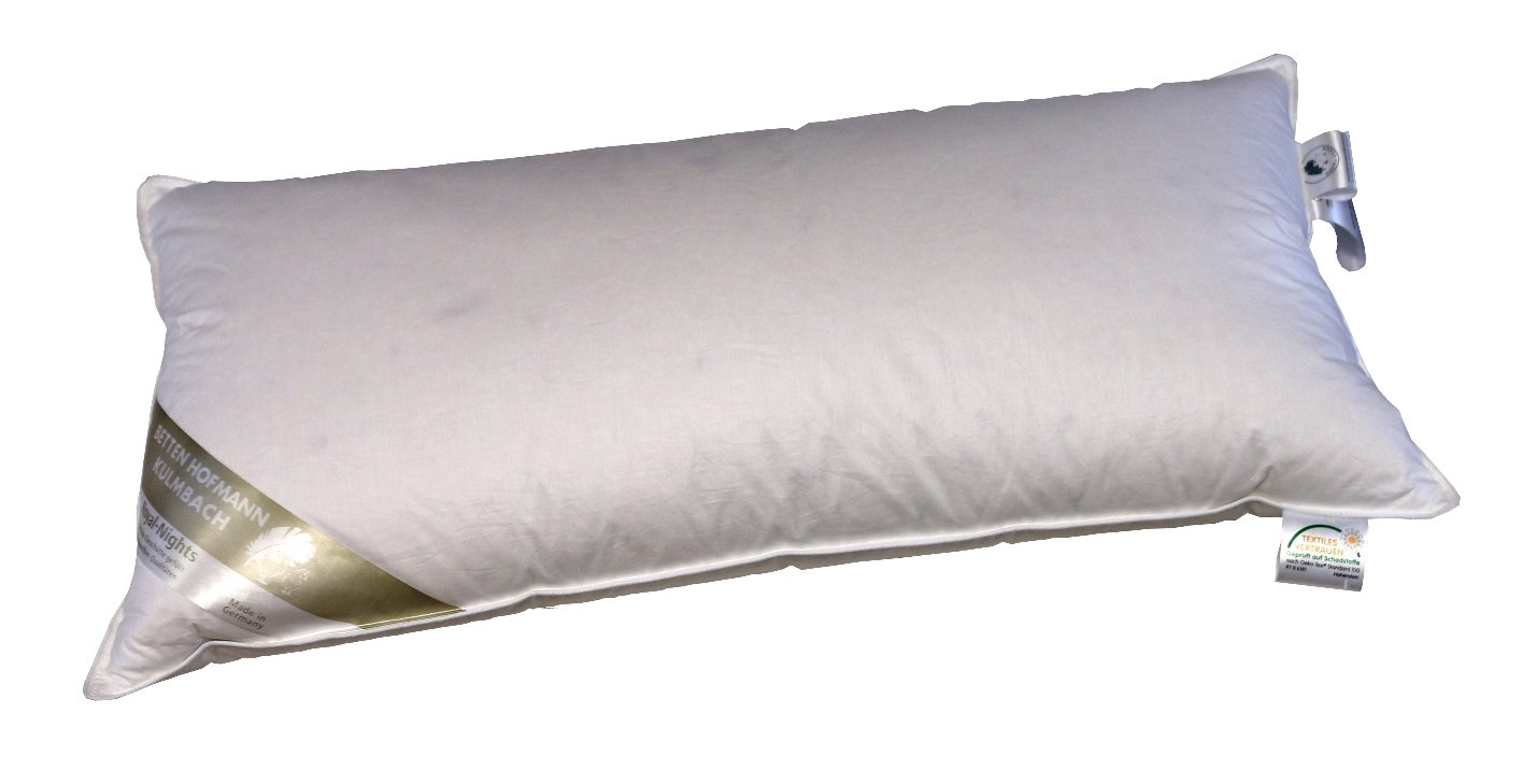 Kopfkissen Kissen 60x80   350g Daunen Daunenkissen 100/% NEUE Daunen soft