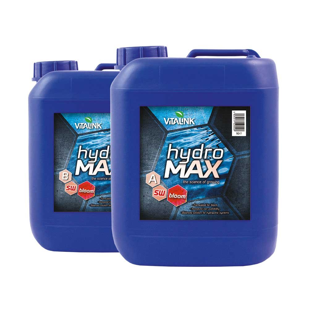 VitaLink 5 Litre Hydro Max Bloom Soft Water - Blue Part A and B (pack of 2) 05-201-145