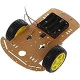 Mohoo Kit Châssis Moteur Intelligent Robot Car ( Planche Claire )Speed Encoder Box Batterie Pour Arduino