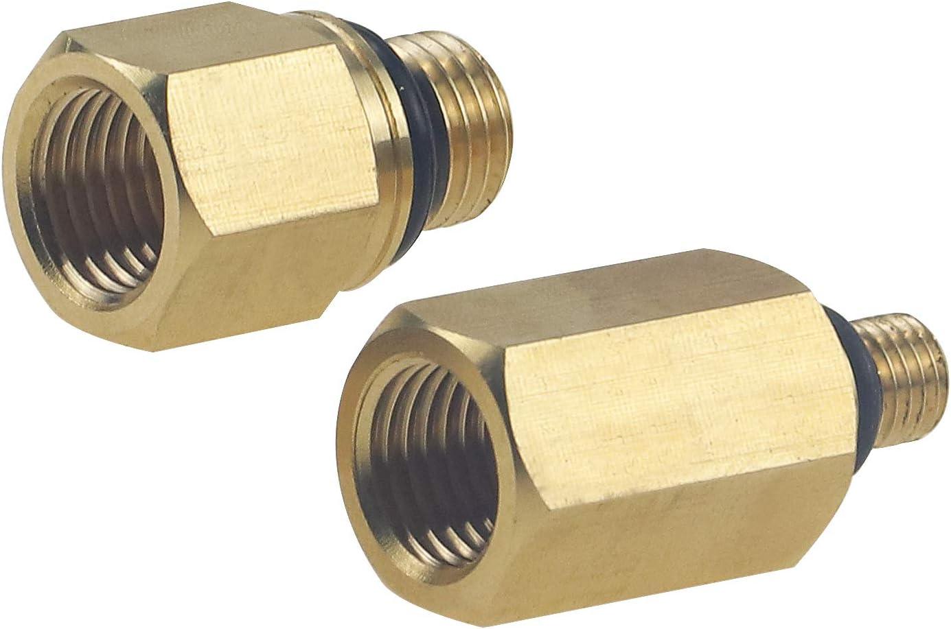 Sporthfish High Pressure Oil Rail Adapters Fuel Rail Adapter Leak Test Kit for Ford 6.0L Engine