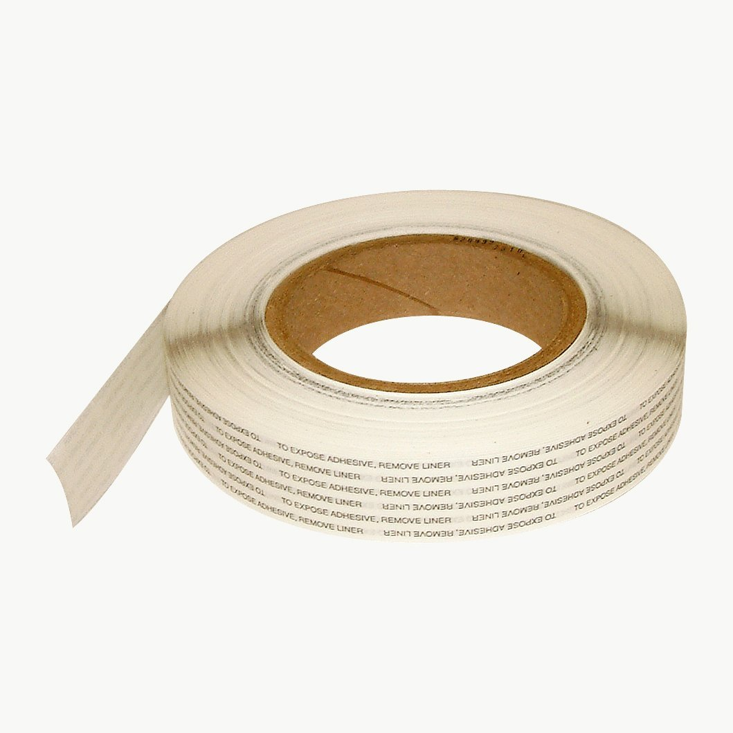 Ludlow T-Tak HD Double Coated Tissue Tape: 1 in. x 72 yds. (Natural)